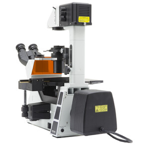 Optika Microscopio Mikroskop IM-5FLD-EU, trino, invers, FL-LED, w.o. objectives, EU