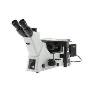 Optika Microscopio Mikroskop IM-5MET-SW, trino, invers, IOS, w.o. objectives, CH