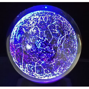 CinkS labs The Star Constellations in a Sphere 2D