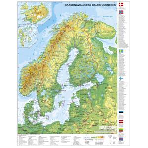 Stiefel Mappa Scandinavia e Paesi baltici