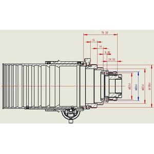 "APM Apochromatic refractor AP 152/1200 ED 3.7""-OAZ OTA"