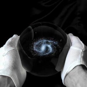 CinkS labs Toute la Voie lactée dans une boule de verre