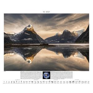 Palazzi Verlag Kalender Planet Erde 2021
