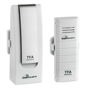 TFA Wireless Stazione Meteo Starter-Set mit Temperatursender WEATHERHUB