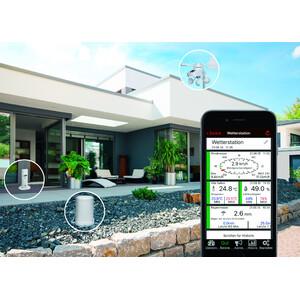 TFA Wireless Stazione Meteo Wetterstation-Set mit Klima, Regen & Windsender WEATHERHUB