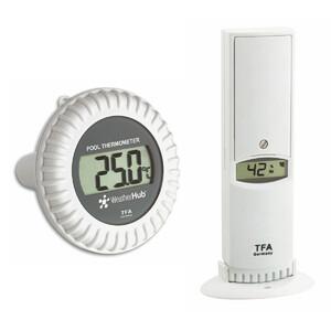 TFA Thermo-Hygro-Sender mit Poolsender WEATHERHUB