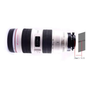 Artesky Adattatore T2 per obiettivi Canon EOS