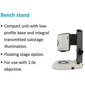 "Vision Engineering Microscopio EVO Cam II, ECO2510, bench stand, LED light, 1x W.D.85mm, HDMI, USB3, 24"" Full HD"