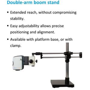 "Vision Engineering Microscopio EVO Cam II, ECO2513, double arm boom, LED light, 5 Diopt W.D.197mm, HDMI, USB3, 24"" Full HD"