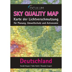 Oculum Verlag Landkarte Sky Quality Map Deutschland