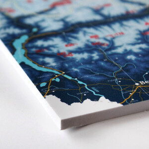 Marmota Maps Mappa del Mondo Mountains of the Earth