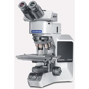 Olympus Microscopio BX53-MET, HF, trino, infinity, plan, Auf-Durchlicht, LED