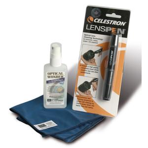 Baader Optische Reinigungsflüssigkeit Optical Wonder 100ml mit Tuch und LensPen