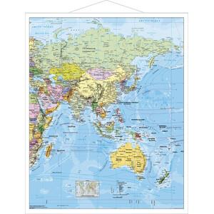 Stiefel Regional-Karte Asien