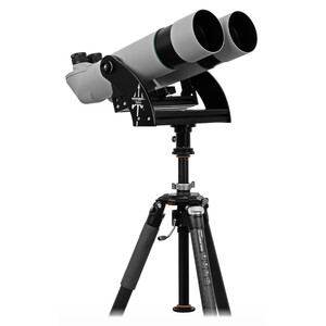 Omegon Binocolo Brightsky 22x70 90° binoculars including Neptune fork mount with centre column and tripod