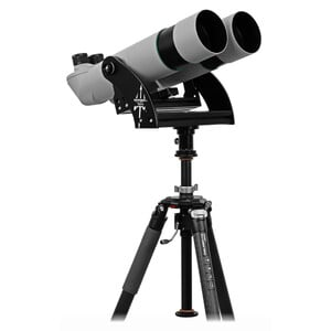 Omegon Binoculares Brightsky 30x100 - 90° de , con montura de horquilla Neptune, columna central y trípode