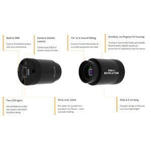 StarAid Aparat fotograficzny Standalone Autoguider Revolution Revision B