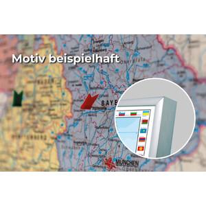 Stiefel Mappa USA politisch mit PLZ