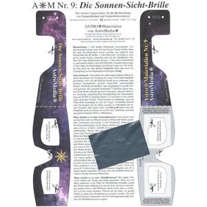 AstroMedia Kit Occhiali per l'osservazione del Sole