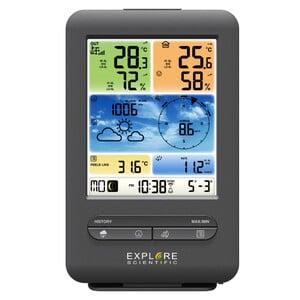 Explore Scientific Funk-Wetterstation WLAN-Wettercenter mit 5-in-1 Profi-Sensor V