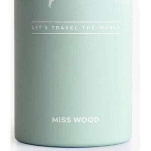 Miss Wood Bottle Light Green