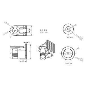 ZWO Adapter für EAF Fokusmotor an Celestron C8 & C9.25