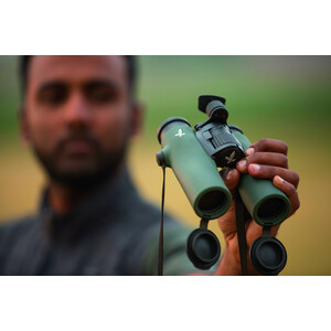 Swarovski Binoculars NL PURE 8X32 BURNT ORANGE-SCHWARZ