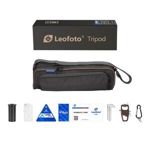 Leofoto Treppiede Carbonio LX-225CT+XB-32Q