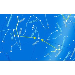 Oculum Verlag Sternkarte Drehbare Himmelskarte Sterne und Planeten 30cm