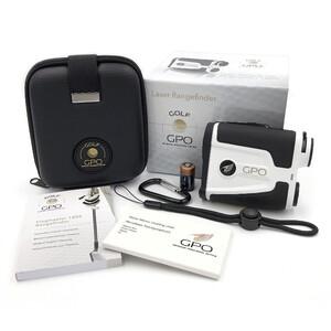 GPO Telemetro Golf Laser Rangefinder Flagmaster 1800 weiß