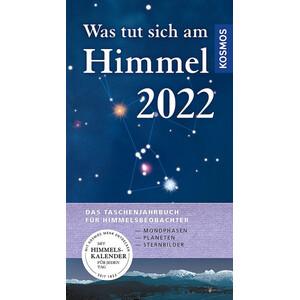 Kosmos Verlag Jahrbuch Was tut sich am Himmel 2022
