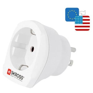 Alimentation électrique Skross Reiseadapter Europe to USA