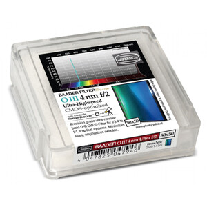 Baader Filtro f/2 Ultra-Highspeed OIII CMOS 50x50mm