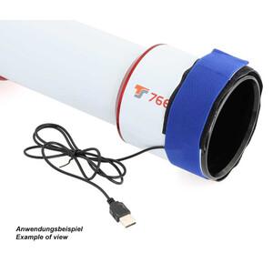 TS Optics Fascia anticondensa USB 300mm