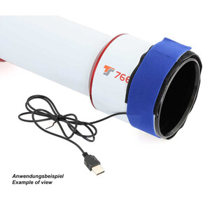 TS Optics Fascia anticondensa USB 400mm