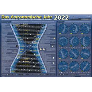 Astronomie-Verlag Poster Das Astronomische Jahr 2022