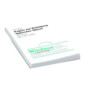 Windaus Carta per pulizia lenti, blocchetto da 250 fogli, 10x13 cm