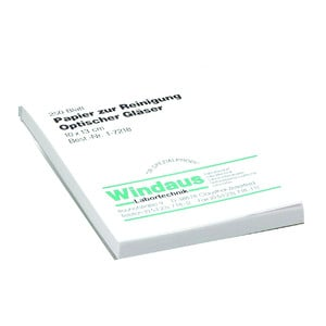 Windaus Lenses cleaning paper, block with 250 sheets 10x13 cm