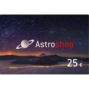 Bono de astroshop por valor de 25 euros