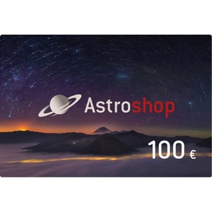 Astroshop voucher at a Value of 100 €