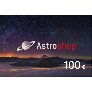 Astroshop voucher at a Value of 100 €