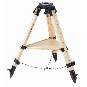 Trépied Berlebach Pied de bois' Education 'modèle 8 pour les Vixen SPHINX avec rangement plat