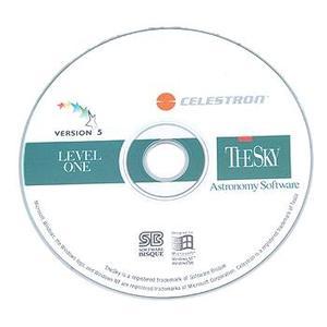 Logiciel Celestron CD-ROM 'The Sky', niveau 1