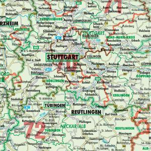 Bacher Verlag Harta Organizării Administrativ Teritoriale A Germaniei