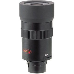 Kowa TSN-601 angled view spotting scope + TSE Z9B 20-60X zoom eyepiece