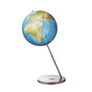 Columbus Floor globe Duorama Magnum stainless steel 60cm