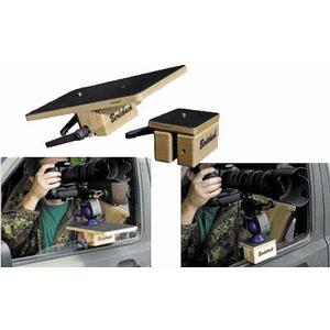 """Berlebach Cavalletto Cavaletto per il finestrino dell'auto 80x100mm con vite di fissaggio 1/4"""", color noce"""