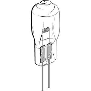 Euromex Lampadina alogena di ricambio 12 Volt 50 Watt, serie F/G e M