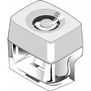 Euromex Microlente d'ingrandimento 8x, 10 mm/100 pezzi