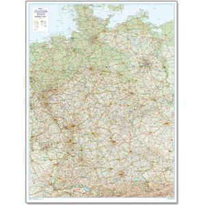 Bacher Verlag Straßenkarte Deutschland 1:500.000
